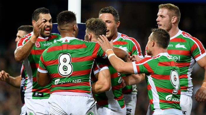FOX LEAGUE's photo on #NRLRoostersRabbitohs