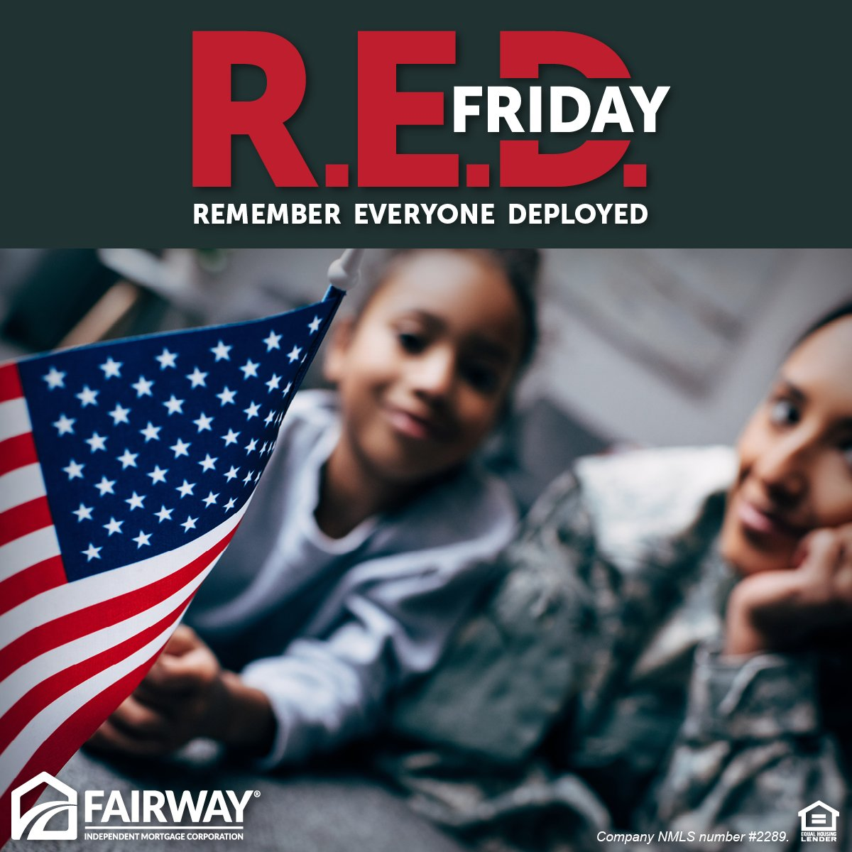 Happy RED Friday! Today we wear RED to Remember Everyone Deployed. Join us and show us your RED in the comments below! #remembereveryonedeployed #REDFriday <br>http://pic.twitter.com/YpbqHXy8nt