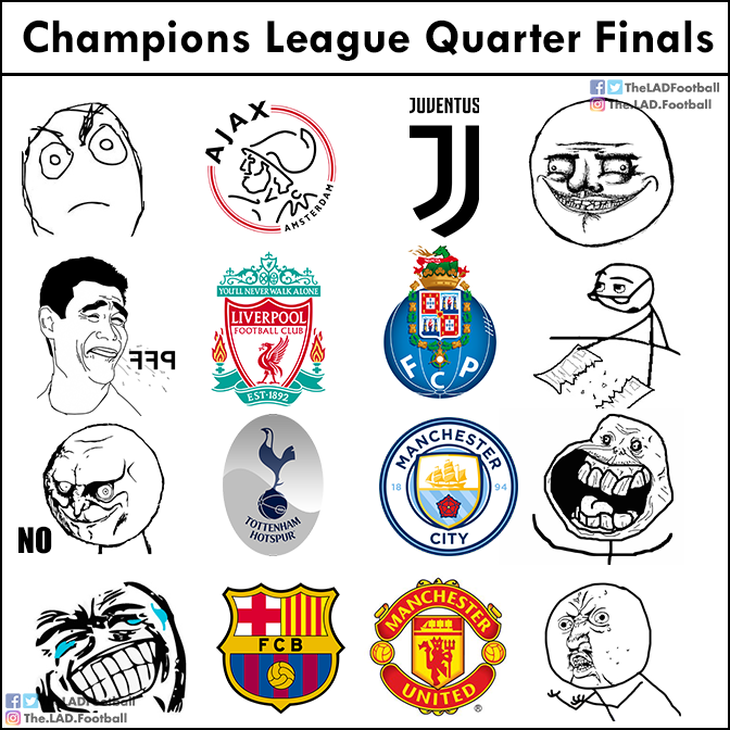Troll Football's photo on Champions League