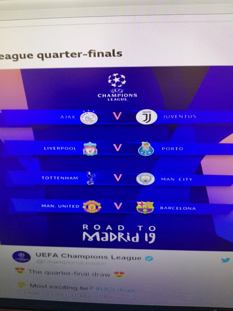 really?not's photo on #ChampionsLeaguedraw