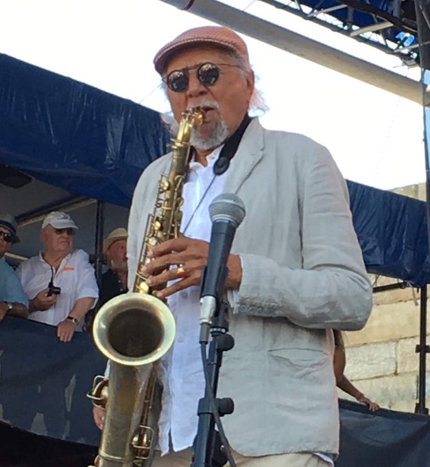 Happy 80th birthday, Charles Lloyd!