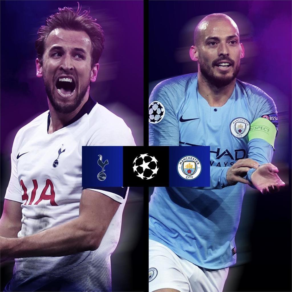 Curiosidades Premier League's photo on Tottenham x Manchester City