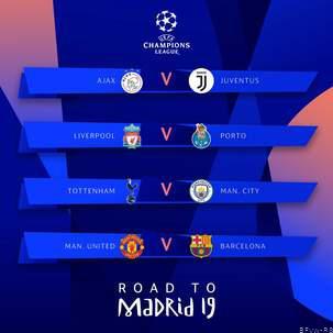UCL 18/19 [Quarter Finals] - Manchester United vs FC Barcelona D1snWUqXgAAZhZz