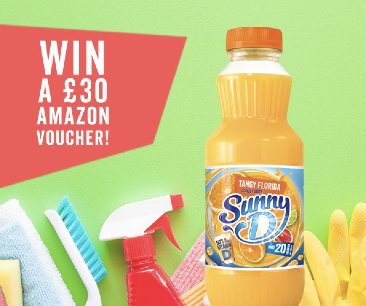 Follow, Retweet &amp; Reply for the chance to Win a £30 Amazon Voucher! The spring clean is looming! Make a it easy peasy lemon squeezy with a £30 voucher that can go towards supplies to make your spring refresh a breeze! Ends 1pm 21/03 UK Entrants Only T&amp;Cs Apply #FreebieFriday <br>http://pic.twitter.com/J0963dw5bC