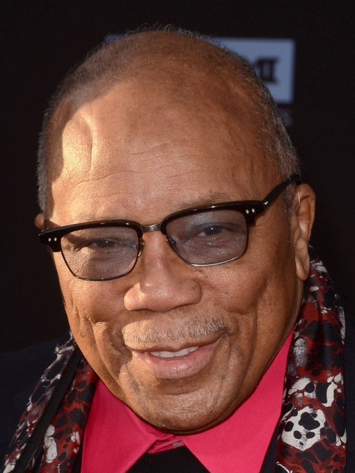 Happy Birthday to Quincy Jones. This guy is truly a living legend.