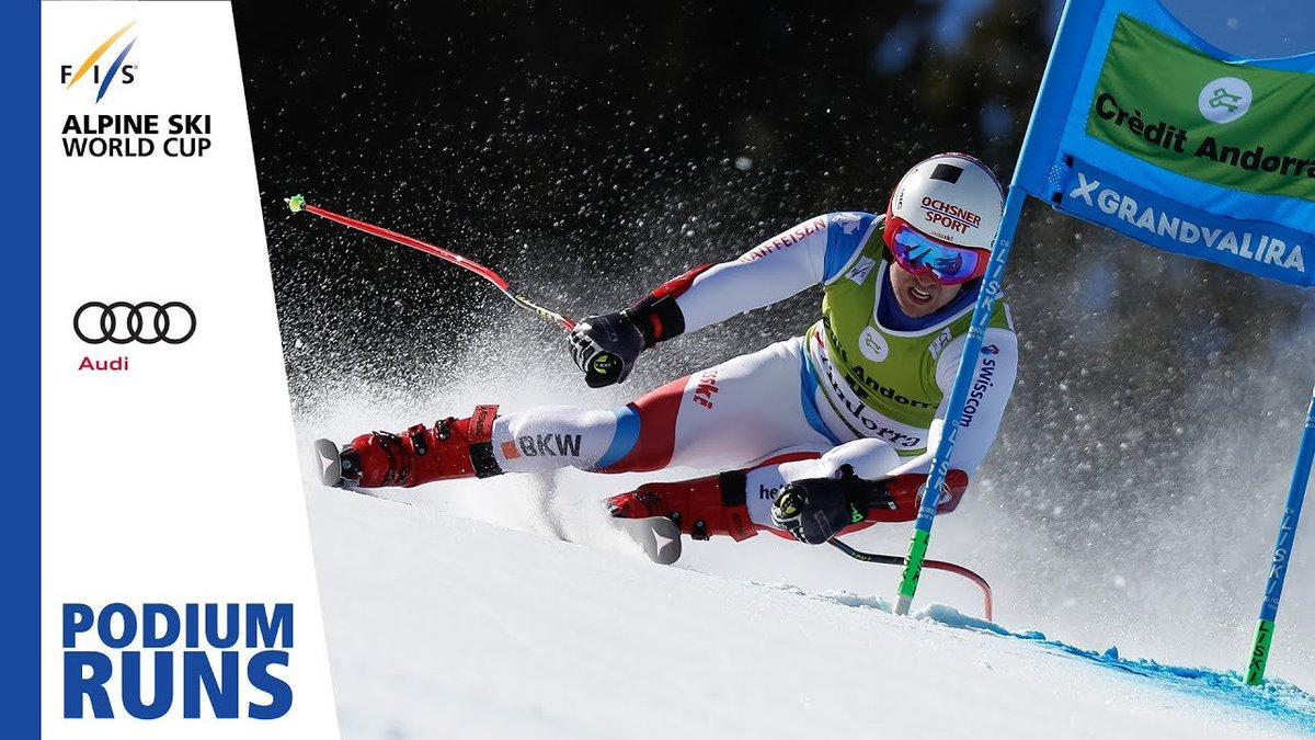 Mauro Caviezel | Men's Super-G | Soldeu | Finals | 2nd place | FIS Alpine http://dlvr.it/R0tTwF