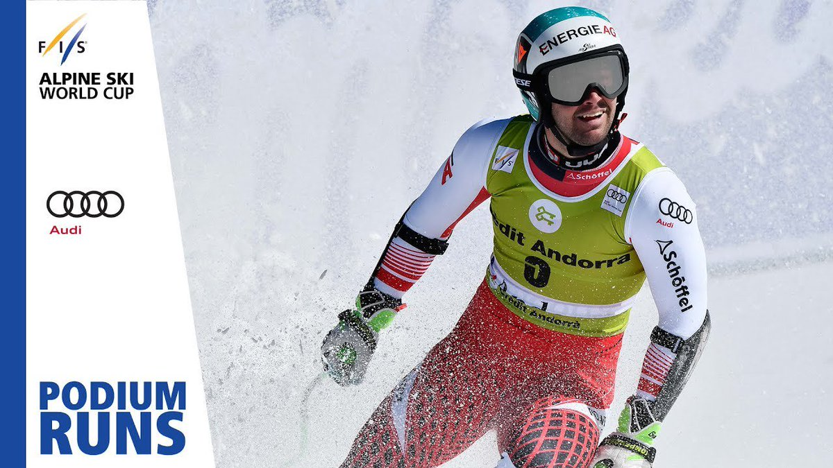 Vincent Kriechmayr | Men's Super-G | Soldeu | Finals | 3rd place | FIS Alpine http://dlvr.it/R0tTsl