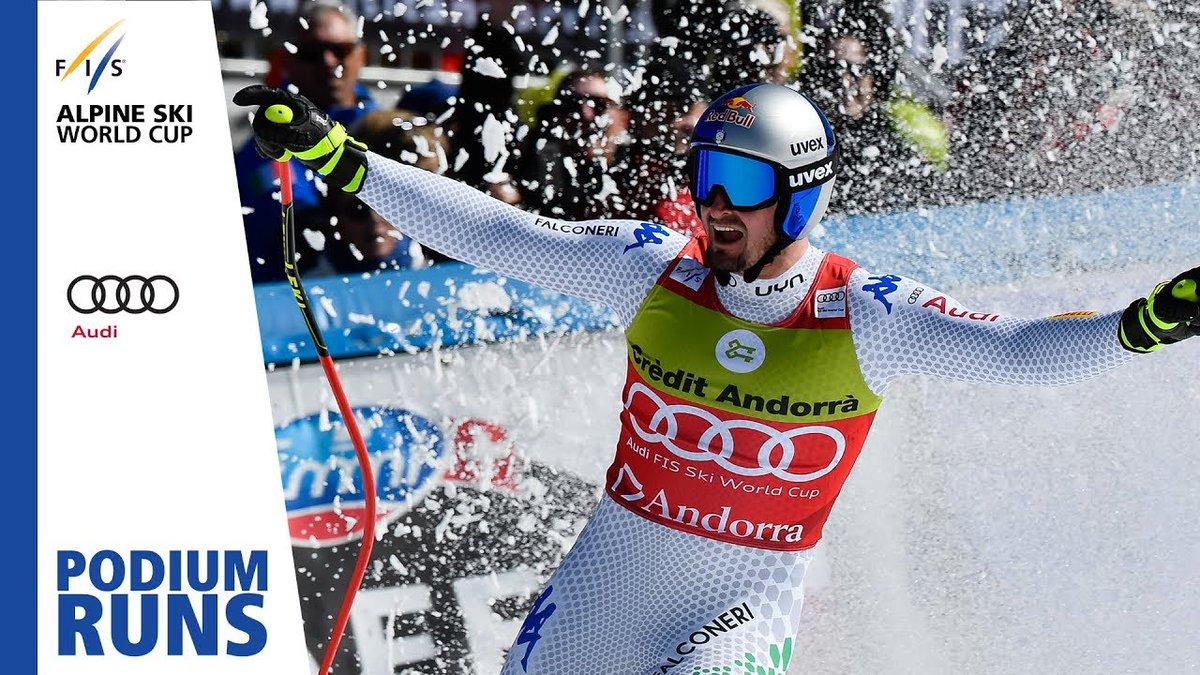 Dominik Paris | Men's Super-G | Soldeu | Finals | 1st place | FIS Alpine http://dlvr.it/R0tTwR