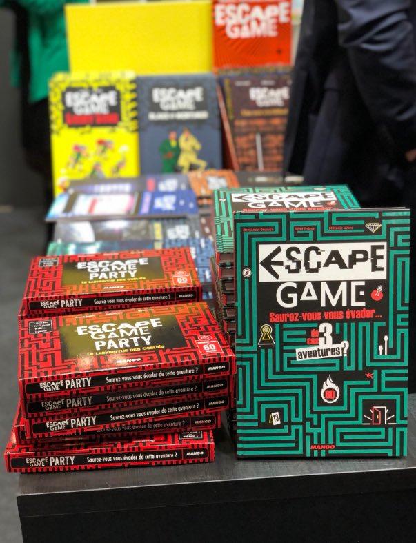 Escape Game Paris Escapegamefr Twitter