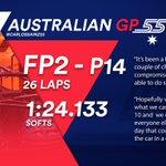 [INFO] 🇪🇸 Carlos Sainz, decimocuarto en los Libres 2 del GP de Australia 👉 https://t.co/CFr2u2bnyQ  🇬🇧 Carlos Sainz, fourteenth in Free Practice 2 at the Australian GP 👉 https://t.co/LFJTBGb3hT  #carlo55ainz #AusGP 🇦🇺 #F1 #FP2