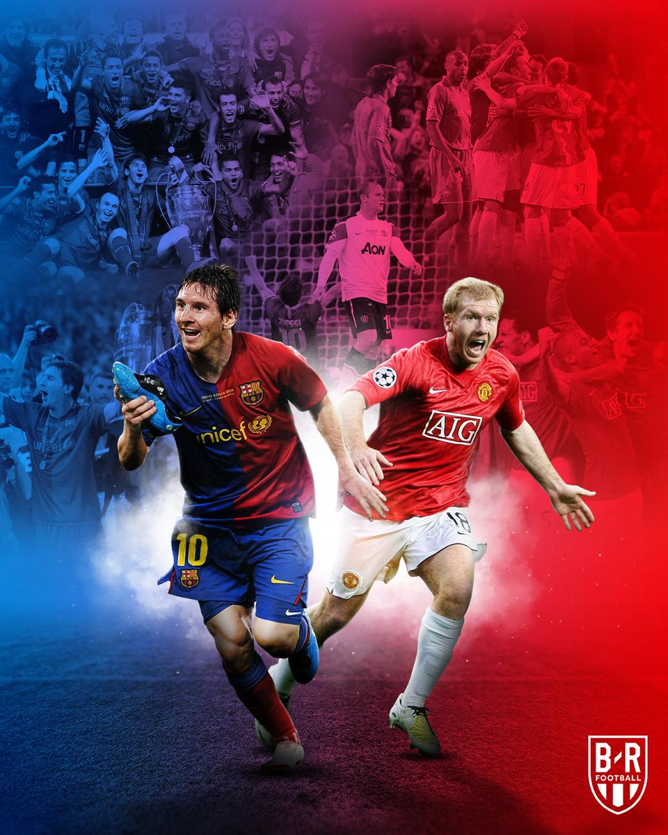 Back to memories  ☆ @FCBarcelona ♥ @ManUtd We ready for reminding what was we done in ( 2009 * 2011 ) #ForçaBarça #Vamos_Barca #Messi #UCLdraw #UCL #WeColorFootball #BarcaManUnited