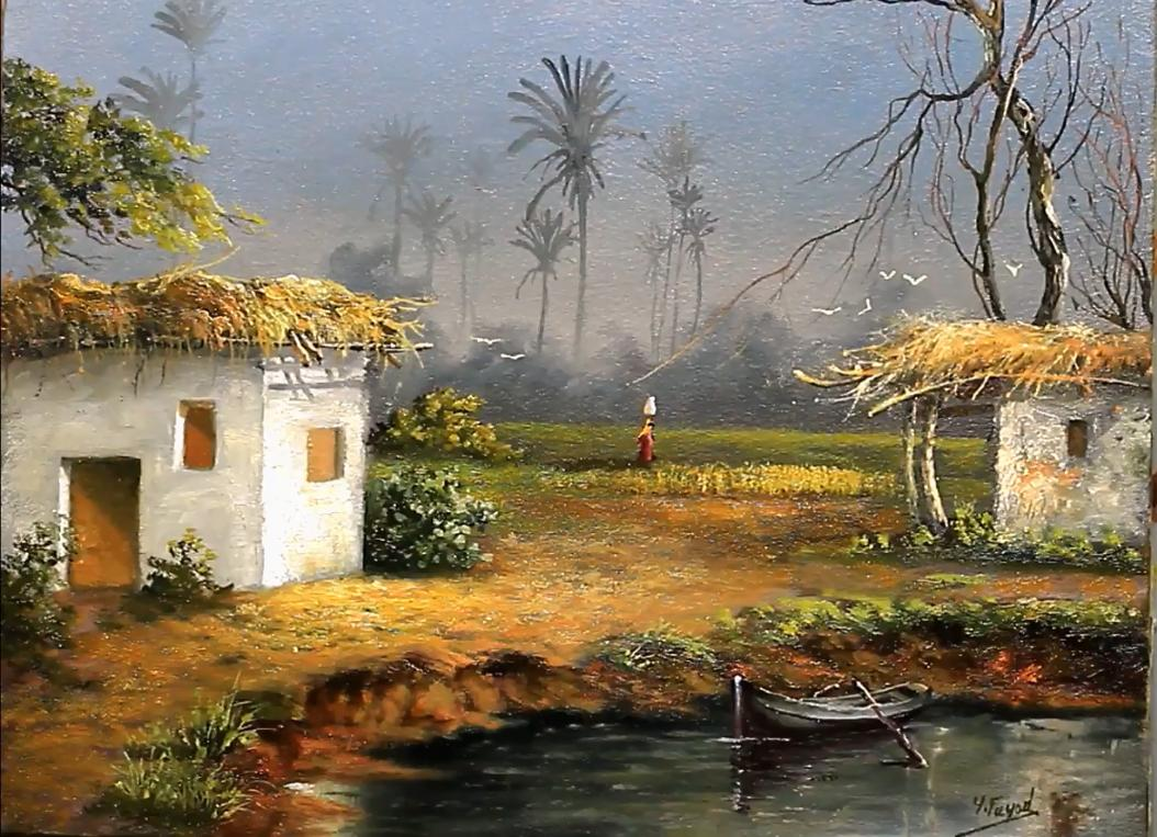 Landscape Oil Painting  Happy Morning From An Egyptian Village By Yasser Fayad https://t.co/2S5JBIPJNL @YasserFayad4  #oilpainting, #artist, #art, #paintings, #pleinair, #gallery, #drawing, #wildlifeart,  #arthistory https://t.co/xxQCtjTbfX