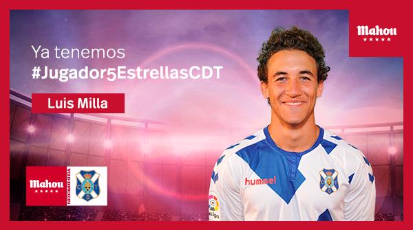 Ya tenemos al #Jugador5EstrellasCDT de febrero. ¡Enhorabuena Luis Milla! 🍻 @CDTOficial