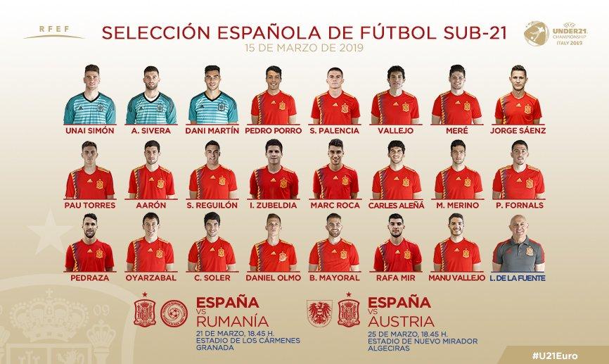 Selección Española de Fútbol's photo on Sub-21