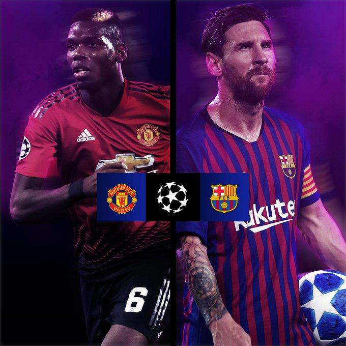 Barcelona vs Manchester United Photo