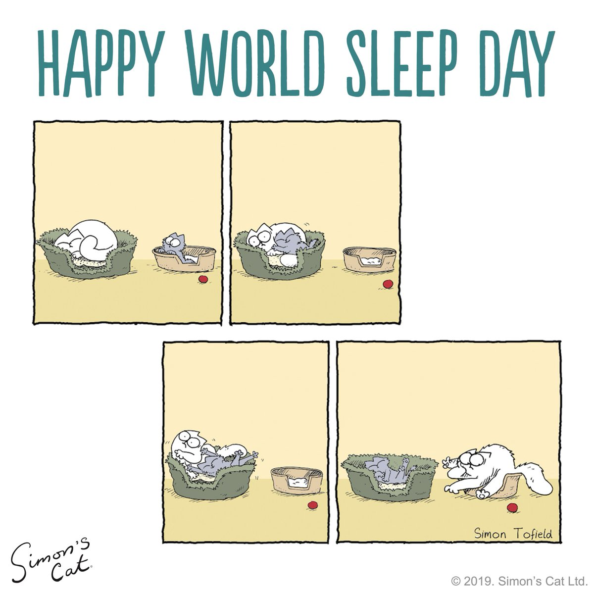 Everyday is #WorldSleepDay if you are a cat!  We want to see photos of your napping kitties. <br>http://pic.twitter.com/DXwSVhKDgX