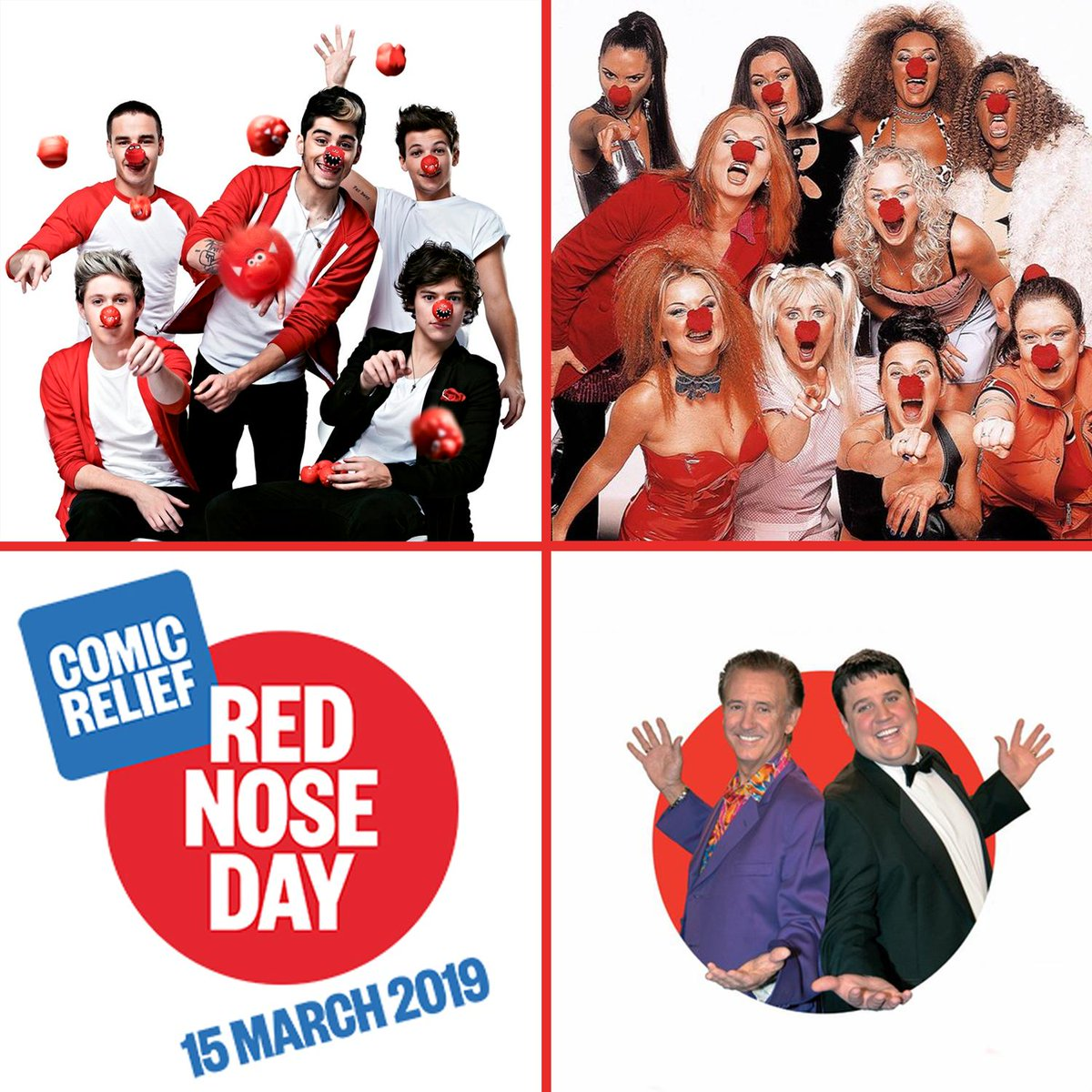 NOW That's What I Call Music's photo on #RedNoseDay2019