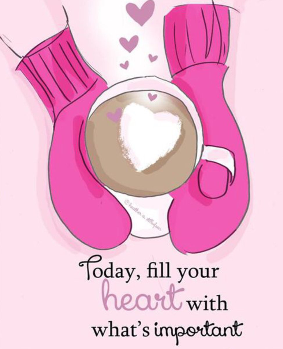 #GoodMorningWorld!  Today fill your heart  with what is important.  Have a fabulous Friday!  #Coffee  #CoffeeLovers #CoffeeMood #Friday #FridayMorning #FridayFeeIing #FridayMotivation #FabulousFriday<br>http://pic.twitter.com/kRhloTXOWL