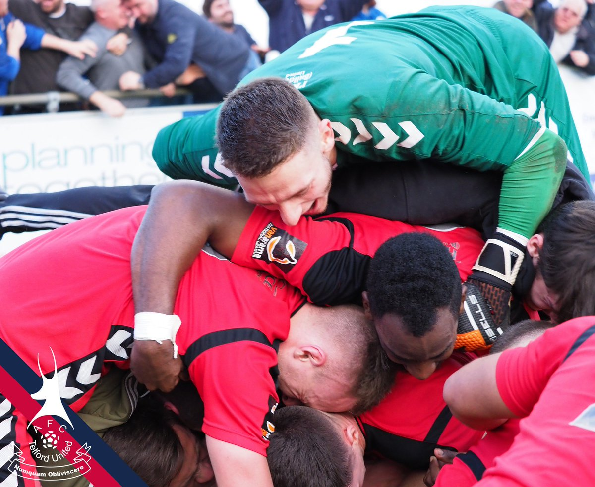 AFC Telford United's photo on FA Trophy