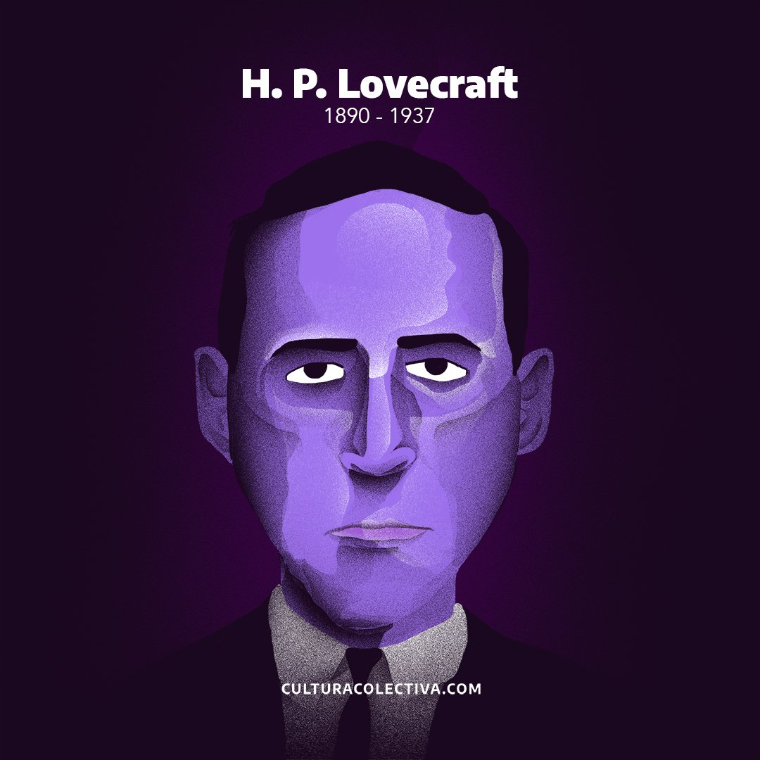Cultura Colectiva's photo on H. P. Lovecraft