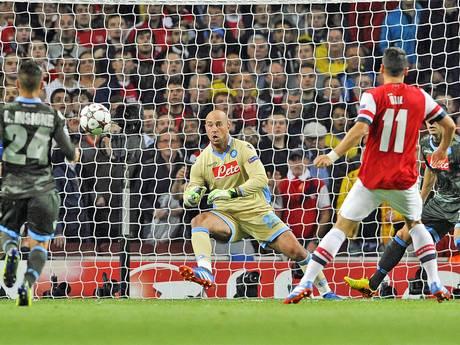 Aubameyang!!'s photo on Arsenal vs Napoli