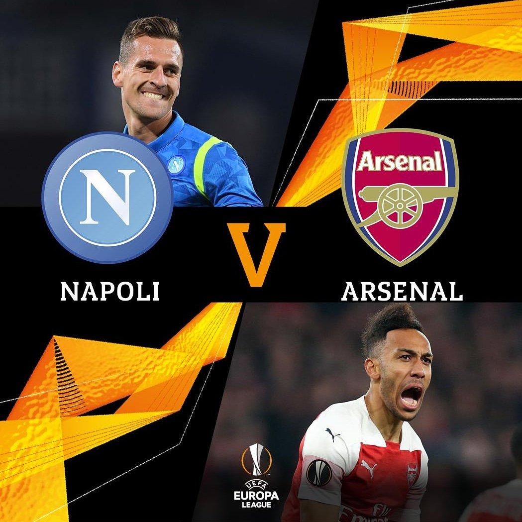 Gooners Report Indo's photo on Arsenal vs Napoli