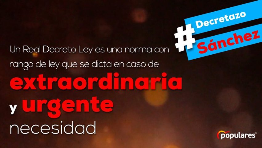 �lvaro Becerra 🇪🇸's photo on #DecretazoSánchez