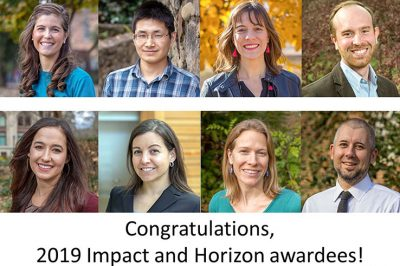 Did you hear? Eight of 20 #UNC graduate students receiving prestigious Impact and Horizon awards are doctoral students or recent alumni of @UNCpublichealth! Learn more about their amazing work: https://t.co/mViBYaLr18 https://t.co/dcGMCvTPwq