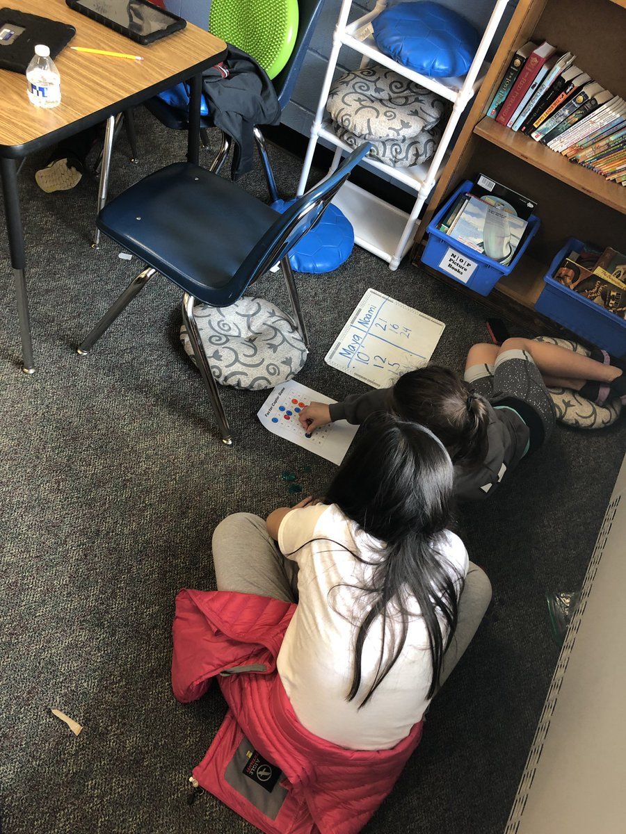 Ms. Crawford's class plays Factor Captor to practice finding all the factors of numbers 1-32 <a target='_blank' href='http://search.twitter.com/search?q=KWBpride'><a target='_blank' href='https://twitter.com/hashtag/KWBpride?src=hash'>#KWBpride</a></a> <a target='_blank' href='https://t.co/r8TtSQP355'>https://t.co/r8TtSQP355</a>