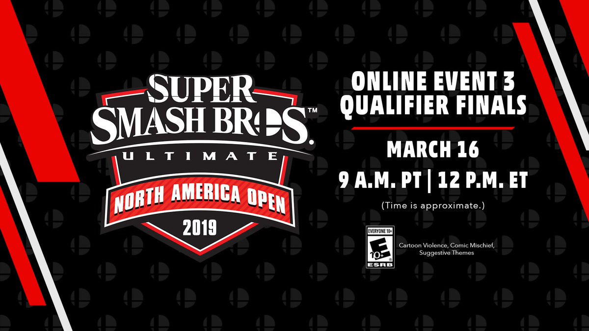 We're just one day away from finding out which players will be next to join the #NintendoNAO19 Grand Finals at #PAXEast! Be sure to watch tomorrow for more fun #SmashBrosUltimate action as it happens live!  http://events.nintendo.com