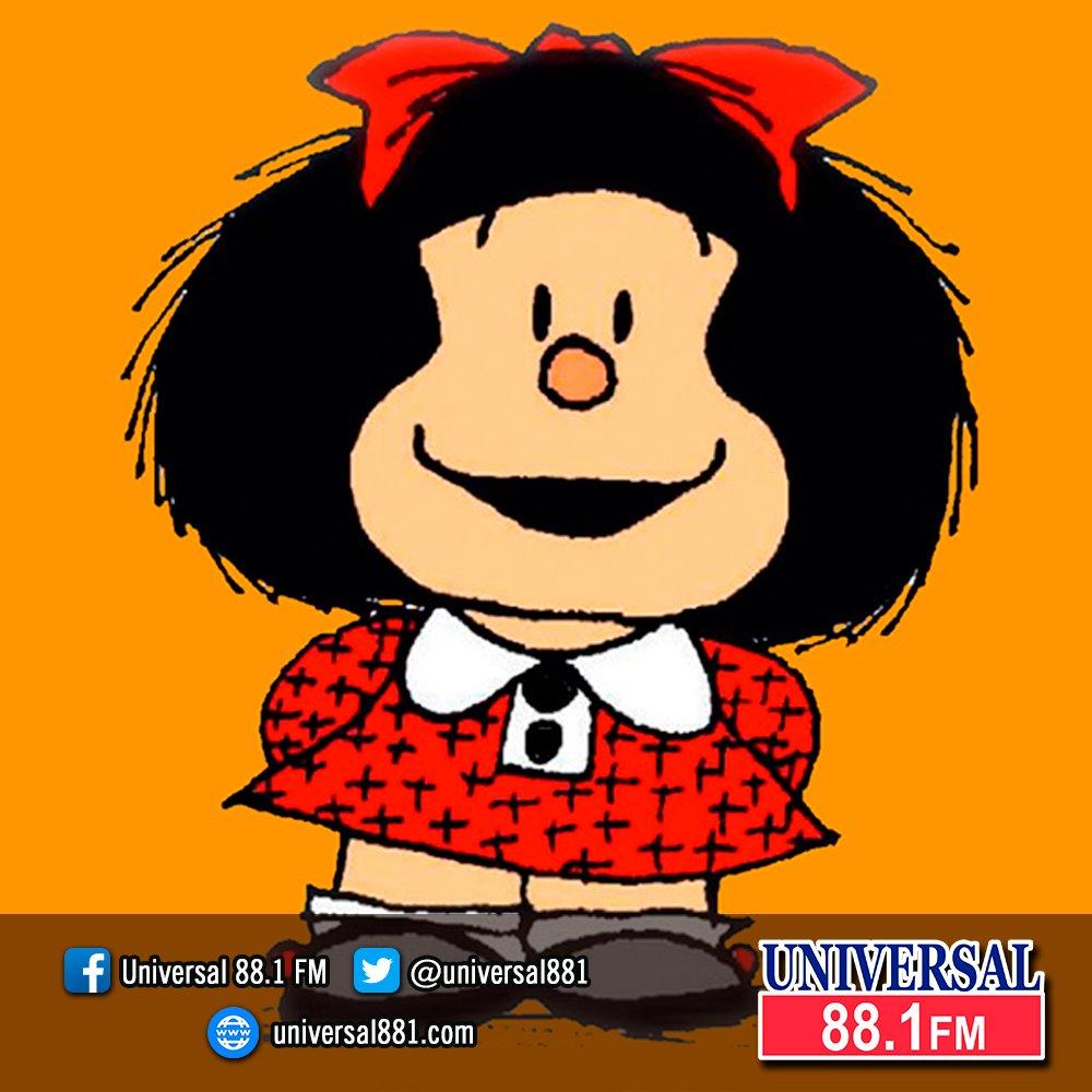 Universal 88.1 FM's photo on #Mafalda