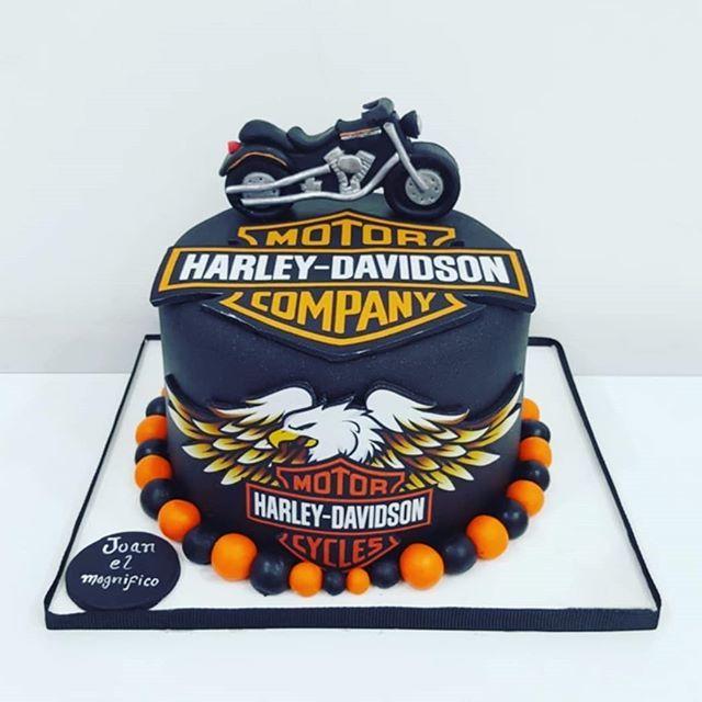 Superb Harleydavidsoncake Hashtag On Twitter Personalised Birthday Cards Paralily Jamesorg
