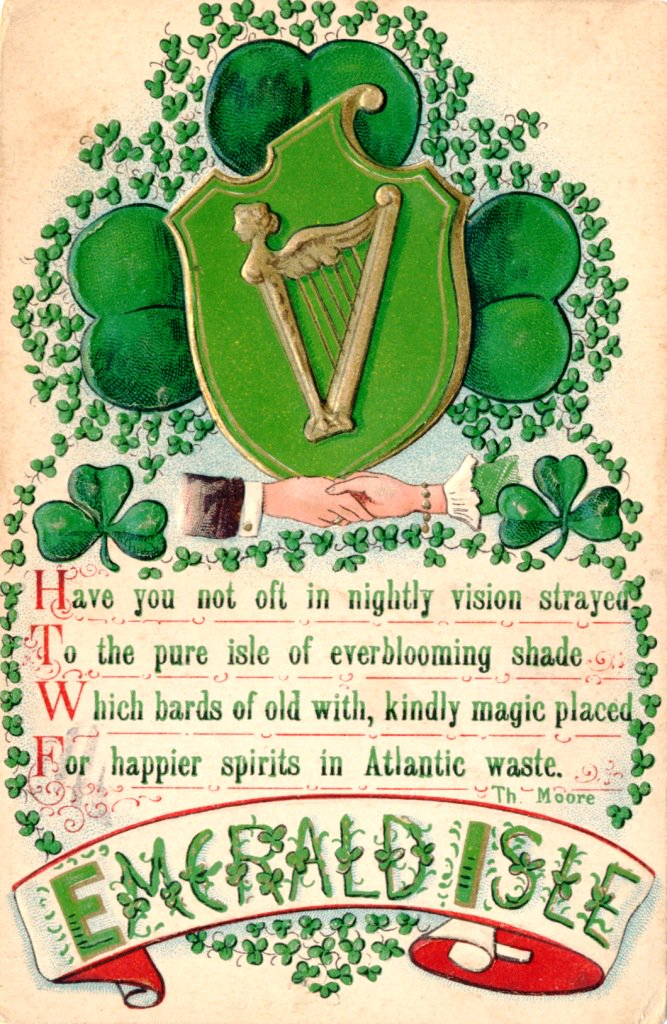 Library of Virginia's photo on #StPatricksDay2019
