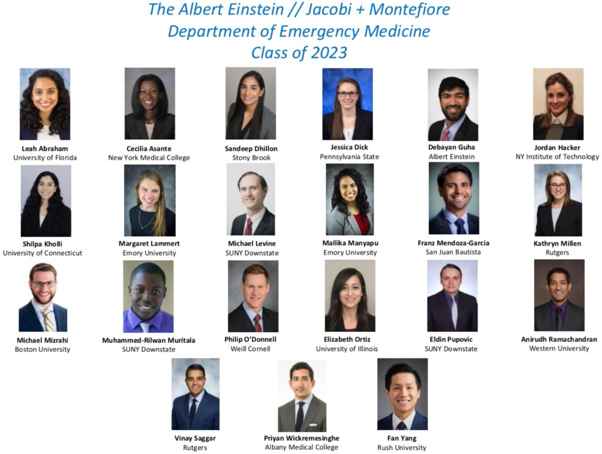 It's Match Day!! Join us in welcoming our newest members to the Jacobi + Monte EM family — the Class of 2023!! #matchday #emergencymedicine <br>http://pic.twitter.com/tR3Yb3XS9a