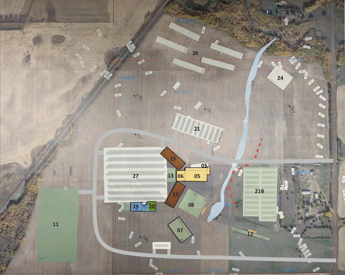 Today's @ShPk_News (actual) front page story: #strathco Multi-purpose ag facility site plan presented to council. STORY: http://bit.ly/2CgHU6X  #shpk