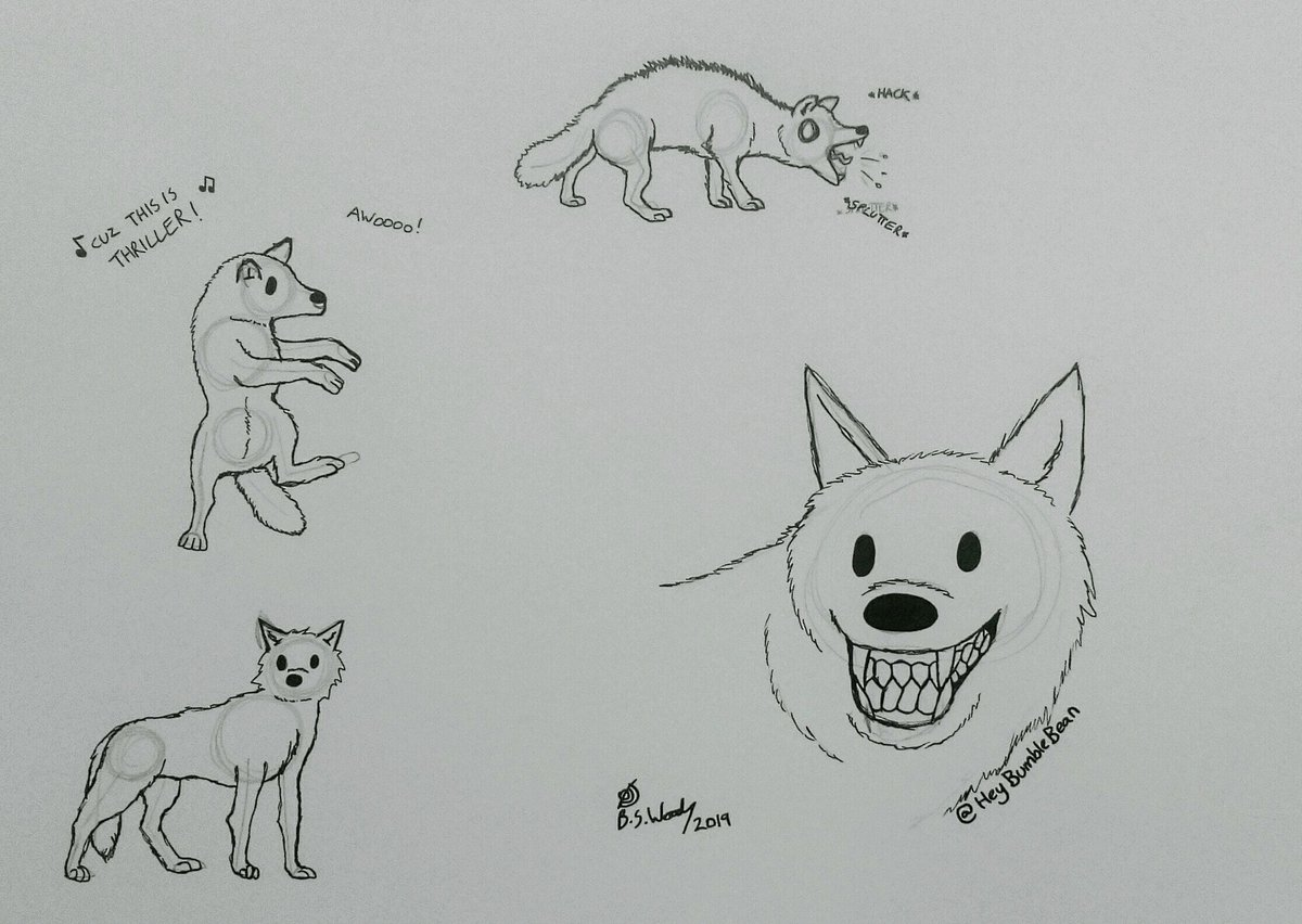 Some 5 minute wolf scribbles (worked from ref photos).  #fursuitfriday #furry #furryart #furryfriday #wolf #Wolves #art #ArtistOnTwitter<br>http://pic.twitter.com/OqlAVuGxxN