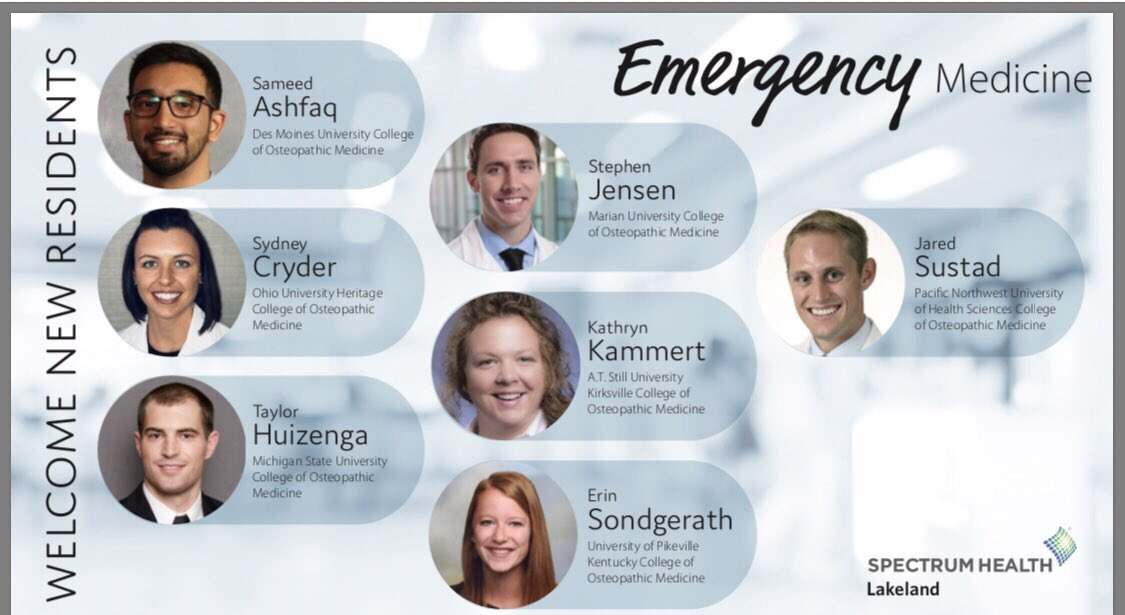Welcome and congrats to the Class of 2023! #Match2019 #EmergencyMedicine #interns #whychooselakeland<br>http://pic.twitter.com/mLaz0tH38g