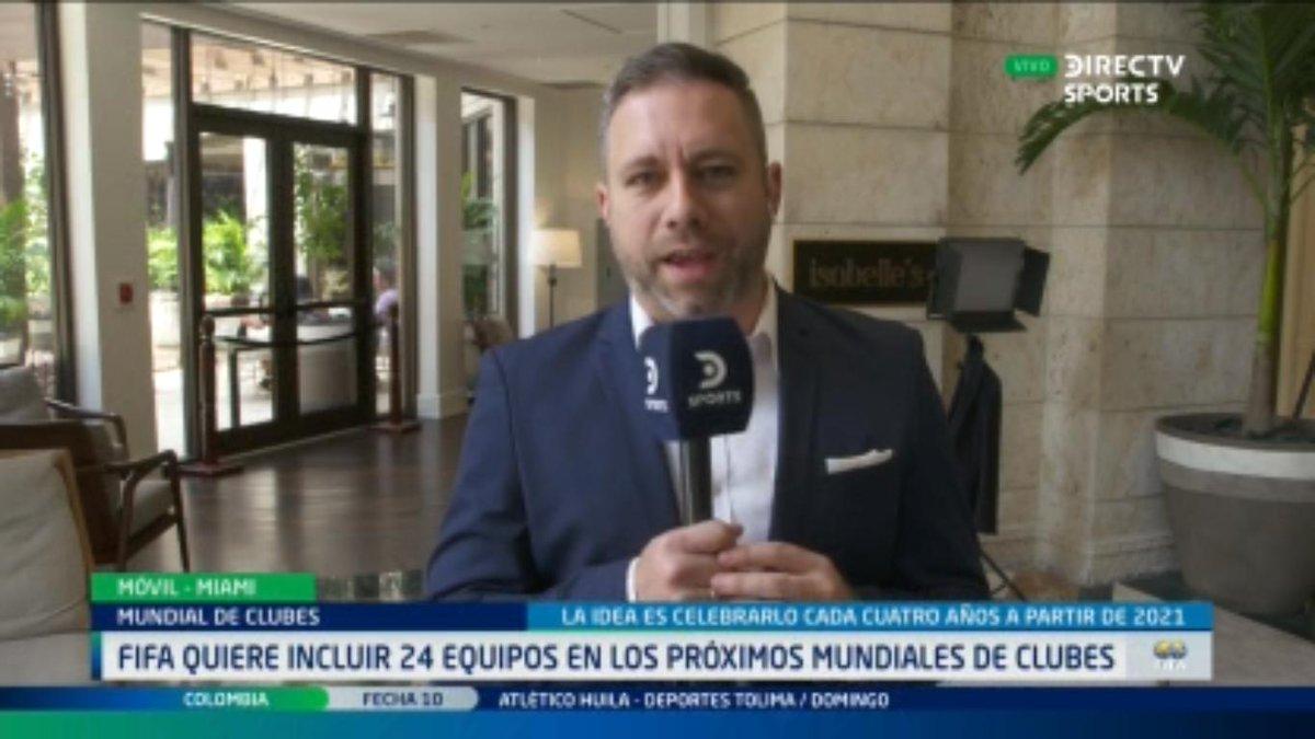 @CarlitosSuarez y las novedades del fútbol mundial #ConexionDIRECTV
