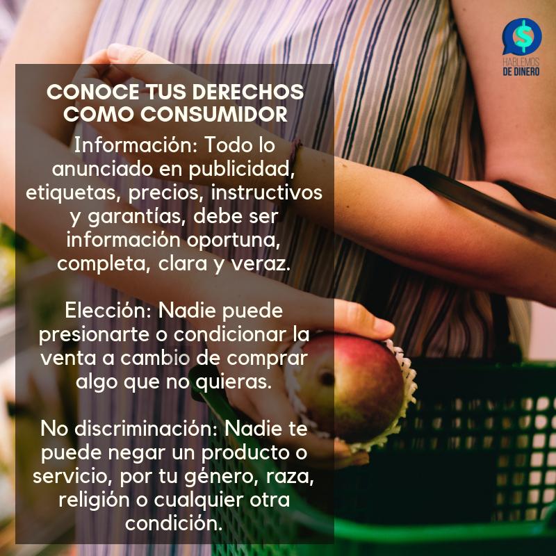 Hablemos De Dinero's photo on Derechos del Consumidor