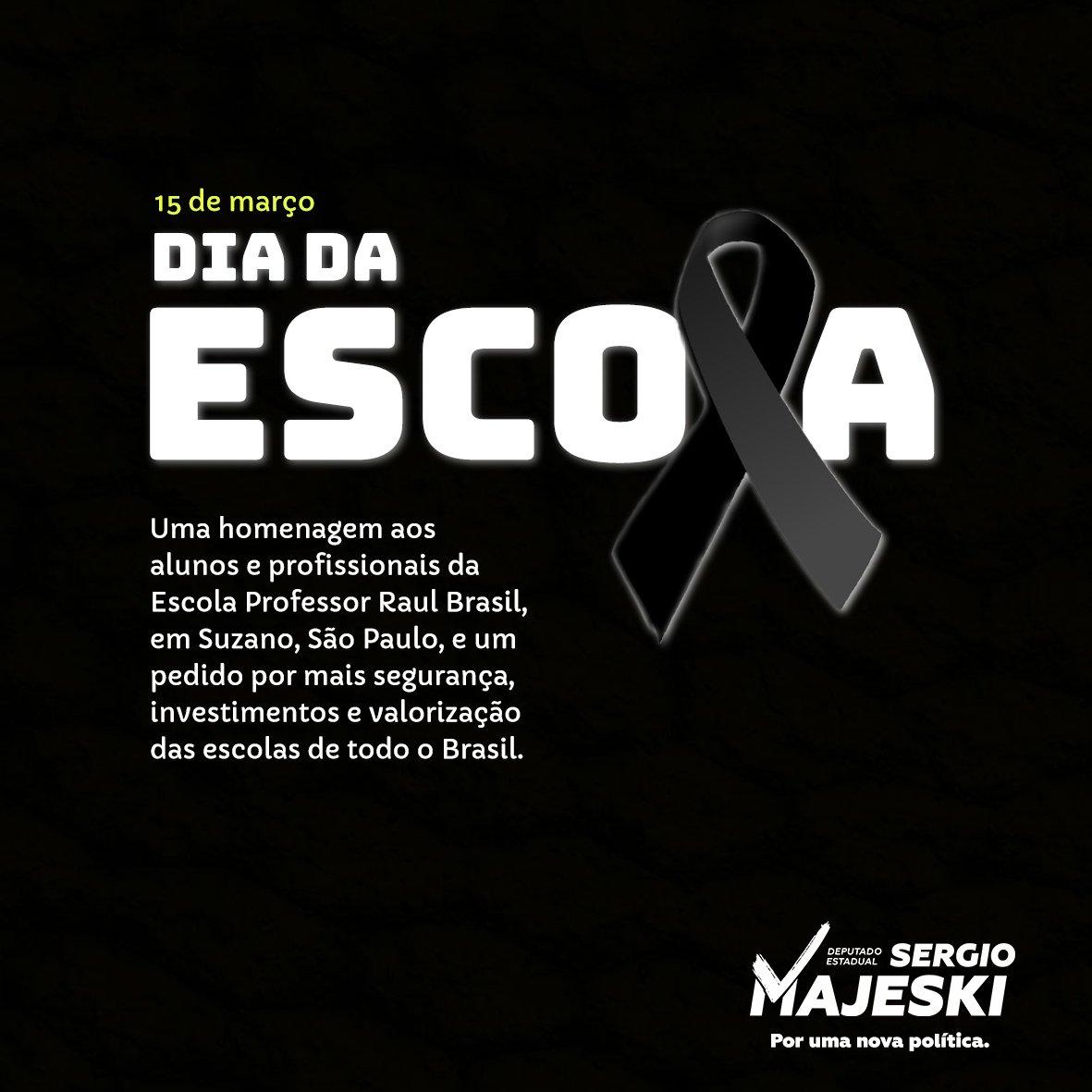 Sergio Majeski's photo on #DiaDaEscola