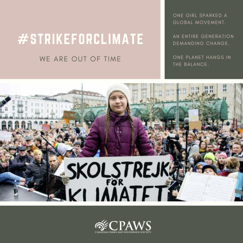CPAWS's photo on #strikeforclimate