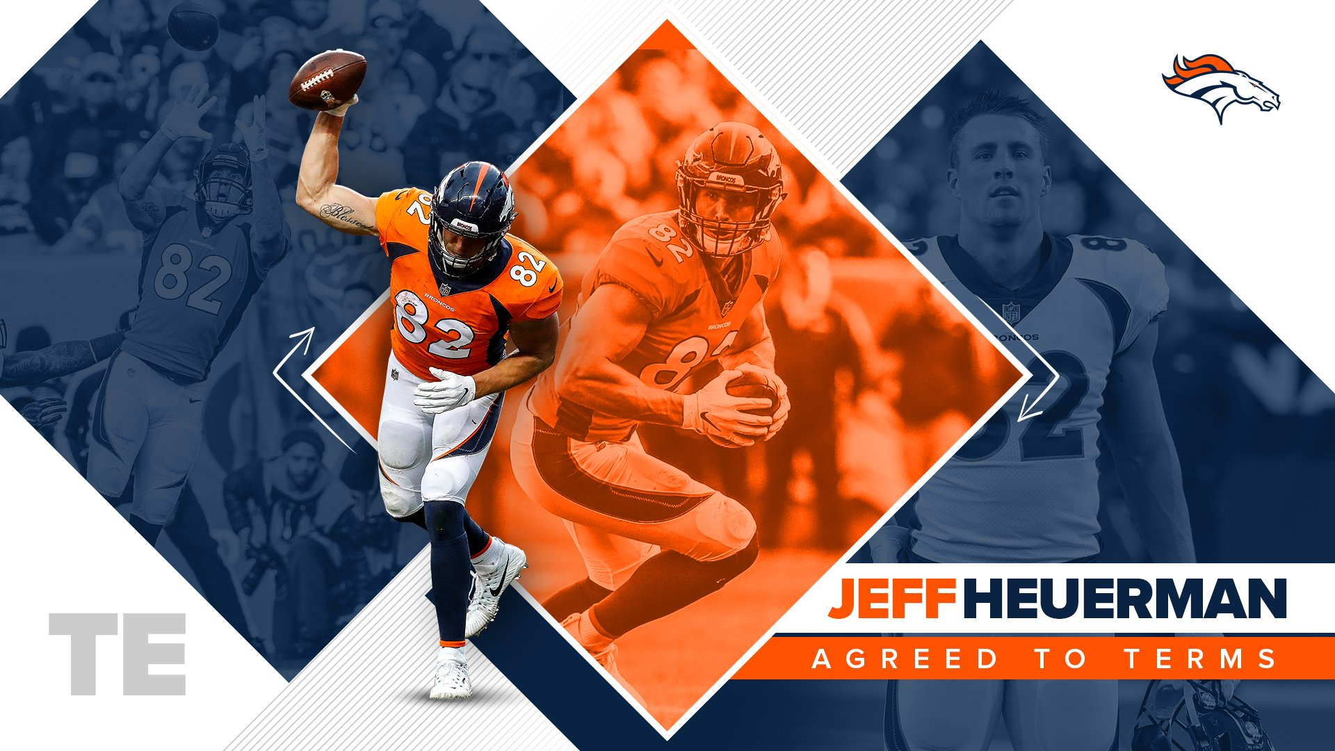 We've agreed to terms with TE @JHeuerman86 on a new two-year deal.  �� » https://t.co/bWMbzLJnpS https://t.co/X6xVuH2Ops