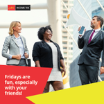 Fridays are fun, especially with your friends! Make some easy cash by referring a friend and you'll get $50 cash on the spot!  Tag someone below right now! https://t.co/B9p4xAYlD9