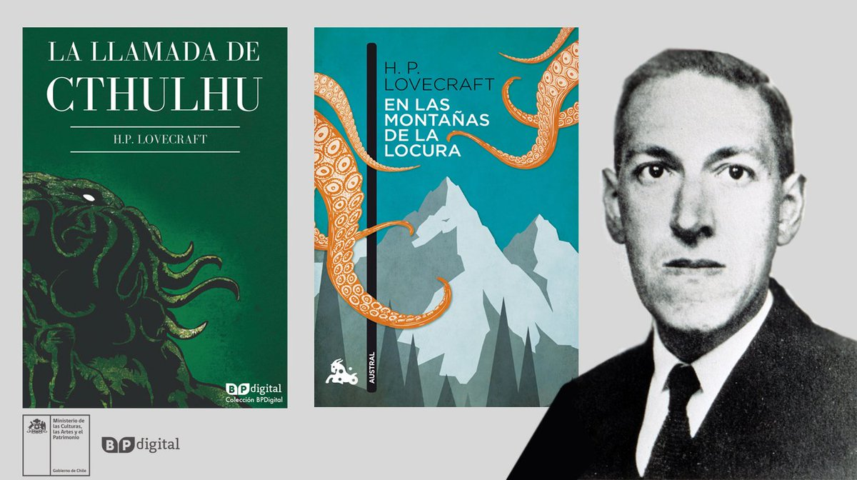 BiblioPúblicaDigital's photo on H. P. Lovecraft
