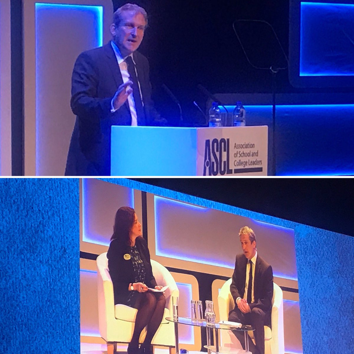 Damian Hinds's photo on #ascl2019