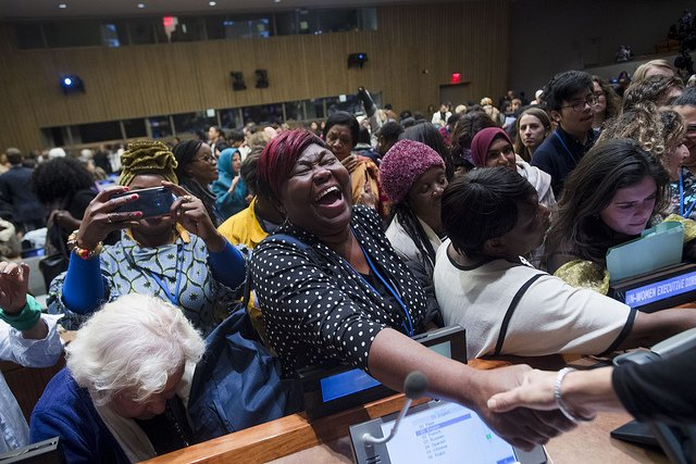 The energy of #CSW63 is already taking over the @UN! See it for yourself in photos 📷📸: http://unwo.men/WRyD30o2h2D