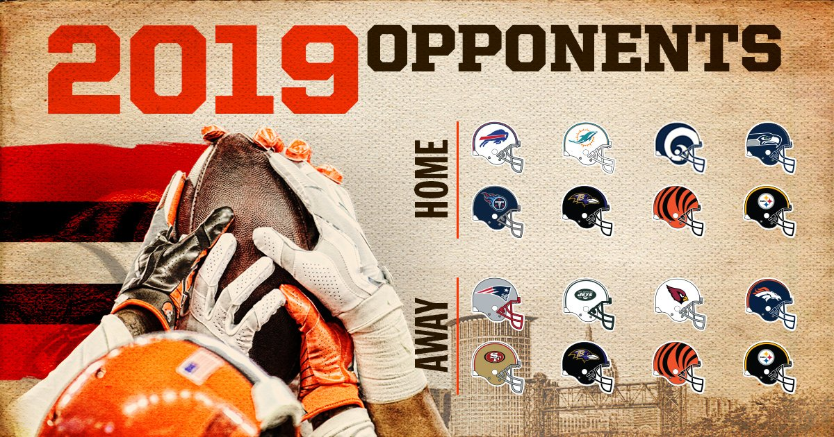 In case you forgot — our 2019 opponents are set! ��  �� » https://t.co/Ltp6Haimko https://t.co/9GpJ5pusn0