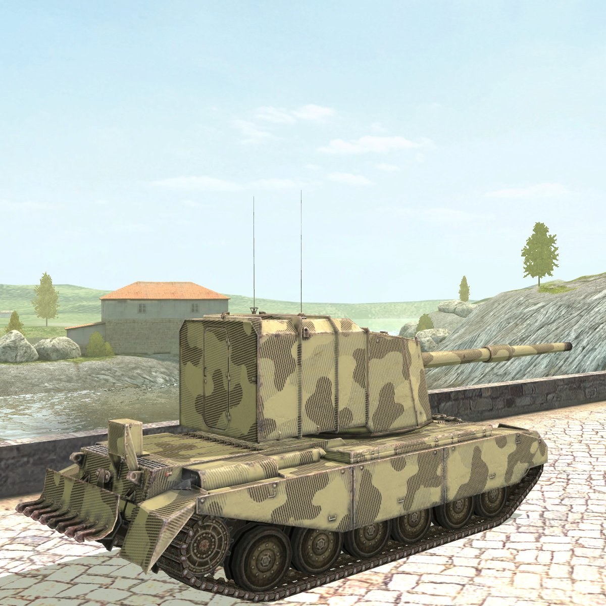 """A 43 Wot world of tanks blitz on twitter: """"fv4005 & fv217 badger we"""