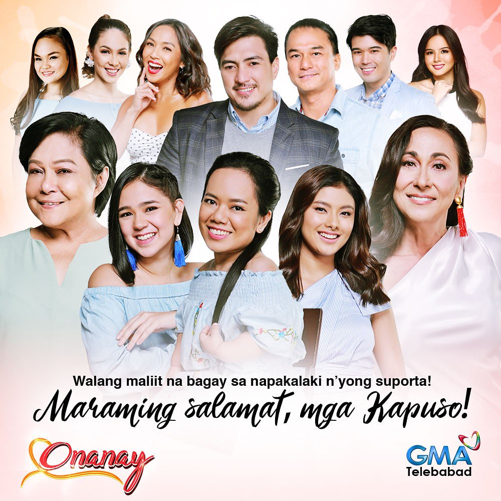 GMA Drama's photo on #OnanayFinale