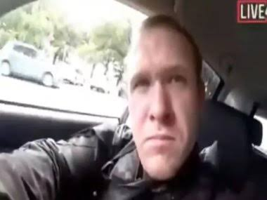 """#Christchurch  Pic 1: white supremacist who killed 49 Muslims, live streamed it on Facebook still not recognized as a """"terrorist""""  Pic 2: 14 year old Ahmed Mohammed was called a terrorist & was arrested for making a clock #NewZealand #NewZealandShooting #ChristchurchMosqueAttack"""